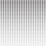 Картина полутонового изображения звезд Стоковое фото RF