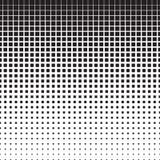 Картина полутонового изображения квадратов Стоковое фото RF
