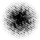 Картина полутонового изображения сделанная крестов Monochrome картина полутонового изображения/ Стоковое фото RF