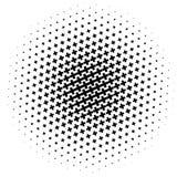 Картина полутонового изображения сделанная крестов Monochrome картина полутонового изображения/ Стоковые Изображения