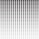 Картина полутонового изображения треугольников Стоковая Фотография