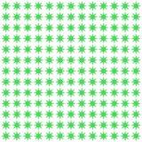 Картина предпосылки безшовная с зеленым вектором звезды Стоковое Изображение
