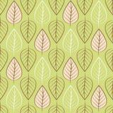 Картина предпосылки с листьями Стоковое фото RF