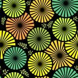 картина предпосылки флористическая безшовная Стоковые Фото