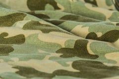 Картина предпосылки цвета камуфляжной формы ткани Стоковые Фотографии RF