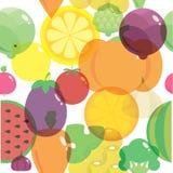 Картина предпосылки здоровых свежих натуральных продуктов подобная Стоковые Изображения