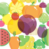 Картина предпосылки здоровых свежих натуральных продуктов подобная Стоковое фото RF