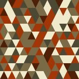 Картина предпосылки диаманта и треугольника Стоковое Изображение
