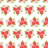 Картина предпосылки с цветками иллюстрация вектора