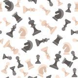 Картина предпосылки шахматных фигур вектор Стоковое Фото