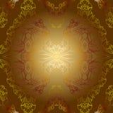 Картина предпосылки Sepia золотая винтажная Стоковое Фото
