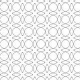 Картина примитивных крестцов geometria ретро с линиями и кругами Стоковое фото RF