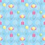 Картина при воздушные шары нося настоящие моменты бесплатная иллюстрация