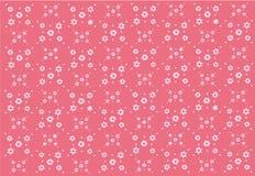 Картина простого цветка весны безшовная Стоковые Фото