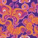 Картина психоделической бабочки безшовная Стоковая Фотография RF