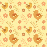 Картина птиц Стоковая Фотография RF