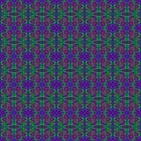 Картина пурпура, светло-зеленого & темных розового яркого блеска безшовная Стоковые Фото