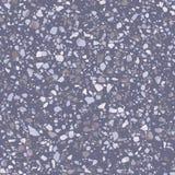 Картина пурпурного настила terrazzo безшовная Реалистическая текстура пола вектора бесплатная иллюстрация
