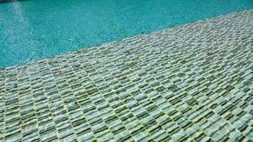 Картина пульсации воды в бассейне Стоковые Изображения