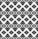 Картина племенного стиля безшовная Стоковое фото RF