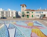 Картина плитки мозаики Стоковые Изображения