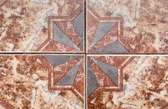 Картина плитки старых керамических плиток. Стоковые Фото