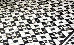 Картина плиток пола мозаики Стоковое Изображение