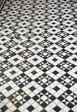 Картина плиток пола мозаики Стоковые Изображения RF