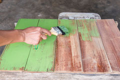 Картина плотника Стоковое Изображение