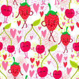 Картина плодоовощ шаржа Стоковые Фото