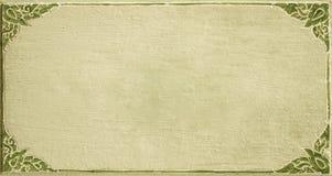 Картина рамки высекаенной цветком Стоковое фото RF