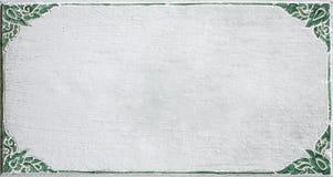 Картина рамки высекаенной цветком Стоковая Фотография RF