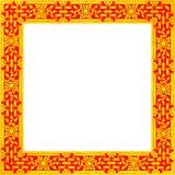 Картина рамки золотая Стоковое фото RF