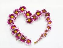 Картина рамки сердца Стоковые Фотографии RF
