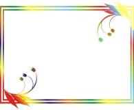 картина рамок цветка Стоковая Фотография