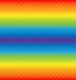 Картина радуги геометрических форм Стоковое фото RF