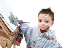картина ребенка 04 мальчиков стоковое фото rf