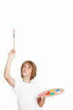 картина ребенка Стоковое Изображение RF