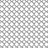 Картина решетки загородки Monochrome безшовная бесплатная иллюстрация