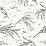 Картина риса безшовная бесплатная иллюстрация