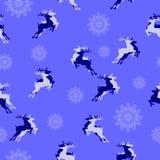 картина рождества безшовная Символы Кристмас также вектор иллюстрации притяжки corel Стоковая Фотография