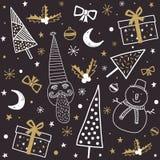 Картина рождества Стоковые Фотографии RF
