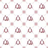 картина рождества безшовная Стоковое Изображение RF