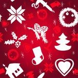 Картина рождества вектора иллюстрация вектора