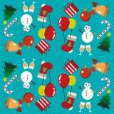 картина рождества веселая Стоковая Фотография RF
