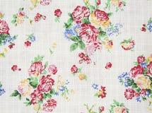 Картина розового дизайна букета безшовная на ткани как предпосылка Стоковые Фотографии RF