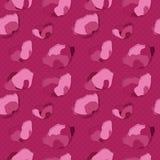 Картина розового мака безшовная Стоковое Изображение RF