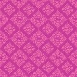 Картина роз и листьев безшовная Стоковые Фотографии RF