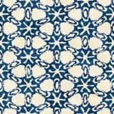 Картина родного стиля boho акварели батика безшовного художнического красочная квадратная стоковая фотография