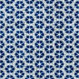 Картина родного стиля boho акварели батика безшовного художнического красочная квадратная иллюстрация штока
